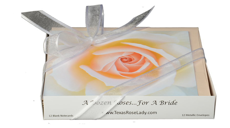 For a Bride Note Cards